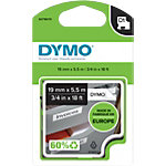 DYMO Labels Permanent Rhino Zwart op Wit 19 mm x 5,5 m