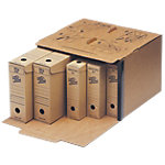 Loeff's Patent Archiefdozen 4001 A4 Bruin Karton 41 x 27,5 x 37 cm 15 Stuks
