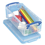 Really Useful Boxes Transportbakken 0.9C Transparant Plastic 0.9 Liter