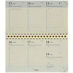 Brepols Navulling voor agenda's Omniplan 7 dagen per 2 pagina's