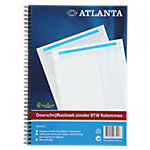 Atlanta Doorschrijfkasboek  A4 210 x 297 mm 70 g
