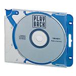 DVD doos Quickflip Complete Polypropyleen Blauw voor 1 CD