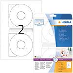 HERMA Special Cd en dvd etiketten Wit Ø 116 mm 25 Vel 50 Stuks