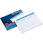 Jalema A5415 015 Werkbriefjes wekelijks Blauw A5 210 x 148 mm 70 g