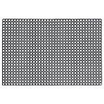 niceday Vloermat Zwart 100 x 150 cm