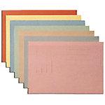 niceday Binnenmap ongelijkzijdig Folio Grijs Manila karton Rechte hoeken 360 mm