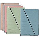 niceday Sorteermap Triangular Folio Roze Manila karton A4   50 Stuks