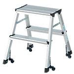 Wedo Verplaatsbare trapladder Mobile 2 Aluminium 41 x 50 x 44,5 cm Stuks
