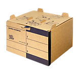 Loeff's Patent Archiefdozen 4004 Bruin Karton 42,5 x 40 x 28 cm 15 Stuks