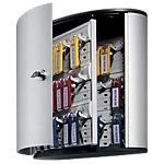 Durable Sleutelkasten 36 haakjes Aluminum