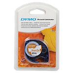 DYMO Labels Opstrijkbaar 18769 Zwart op Wit 12 mm x 2 m