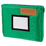 ELAMI Postverzendtas met vouw 400 x 300 mm Groen Stuks