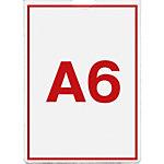 Esselte Geperforeerde showhoezen A6 11 gaats Transparant 10,5 x 14,5 cm 0.12 mm 100 Stuks