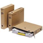Loeff's Patent Archiefdozen Space box A4 Bruin Karton 32 x 24 x 6 cm 50 Stuks