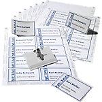 DURABLE Badges met combiklem 8182 00 Polyvinylchloride (PVC) 9 x 5,4 cm 20 Stuks