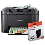 Canon Printer 4 in 1 MAXIFY MB5050 inclusief Canon inkjetcartridge PGI 2500 Zwart