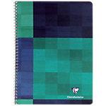 Clairefontaine 8722 Spiraalschrift Kleurenassortiment Geruit A5+ 90 g