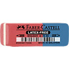Faber Castell Combigom 7070 40 Rood, blauw 1,8 cm x 0,7 cm