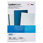 GBC Inbindkaften Leathergrain™ A4 Zwart 100 Stuks