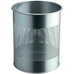 Durable Atlanta Papiermand Grijs 15 liter Staal 260 x 260 mm