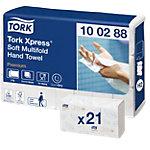 Tork Handdoek intergevouwen Premium 2  laags Pak 21