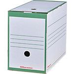 Office Depot Archiefdoos A4 Groen 100% gerecycleerd karton 24,5 x 16,7 x 33,5 cm 25 Stuks