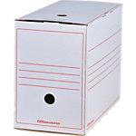 Office Depot Archiefdozen Wit Karton 33,5 x 16,7 x 24,5 cm 12 Stuks