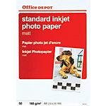 Office Depot Inkjet fotopapier A4 Mat 165 g