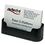 Deflecto DE70104 Visitekaarthouder Transparant 40 kaarten Plastic