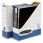 Bankers Box 0026301 Tijdschriftencassette Wit A4 Karton 8 x 25,8 x 31,2 cm 10 Stuks