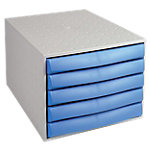 Office Depot Ladenblok Grijs, lichtblauw A4 5 laden