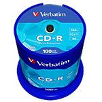 Verbatim CD R 43411 52x 700 MB 80 min. 100 Stuks