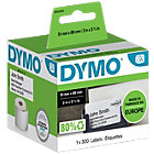 DYMO Etiketten S0929100 51 x 89 mm Wit 300 Stuks