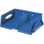 Leitz Sorty Sorteerbakje met dwars verdeelschot Blauw A4 Plastic 40,5 x 30 x 12,5 cm