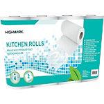 Highmark Keukenrollen 2  laags Wit 4 Rollen  Pak 4