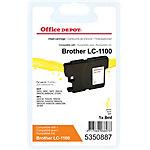 Office Depot Compatible Brother LC1100Y Inktcartridge Geel