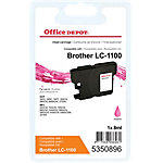 Office Depot Compatible Brother LC1100M Inktcartridge Magenta