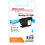 Office Depot Compatible Brother LC1100C Inktcartridge Cyaan