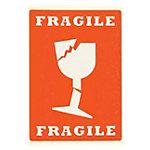 Smartbox Pro Waarschuwingslabel Fragiel Fragiel 74 x 105 mm 5 Stuks