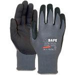 M Safe Handschoenen Microfoam Nitril 7 Zwart