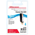 Office Depot Compatible Canon CLI 521C Inktcartridge Cyaan