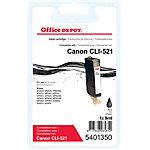 Office Depot Compatible Canon CLI 521BK Inktcartridge Zwart