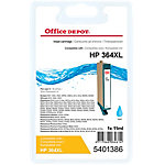 Office Depot Compatible HP 364XL Inktcartridge CB323EE Cyaan