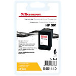 Office Depot Compatible HP 901 Inktcartridge CC653AE Zwart