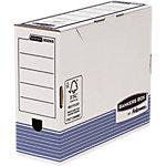 Fellowes Archiefdoos Prima Wit, blauw Karton 31 x 26,5 x 26 cm 10 Stuks