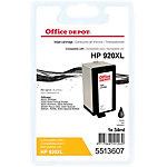 Office Depot Compatible HP 920XL Inktcartridge CD975AE Zwart