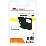Office Depot Compatible Brother LC985Y Inktcartridge Geel