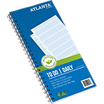 Atlanta Things to do today Blauw Nee 14 x 29,7 cm 70 g