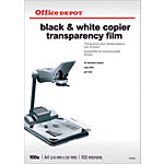 wit copiers 100 Micron A4 voor zwart