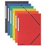 Office Depot 3 flap mappen A4 Kleurenassortiment   10 Stuks